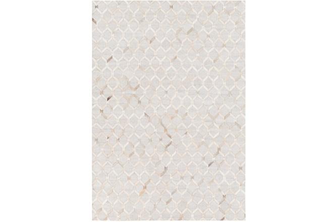 24X36 Rug-Viscose/Hide Honeycomb Camel - 360