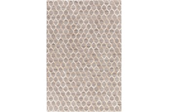 24X36 Rug-Viscose/Hide Honeycomb Taupe