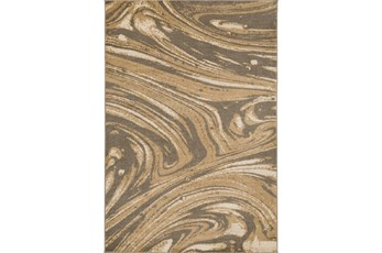 94X130 Rug-Gentry Marble Camel