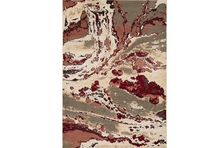 94X130 Rug-Gentry Splatter Garnet