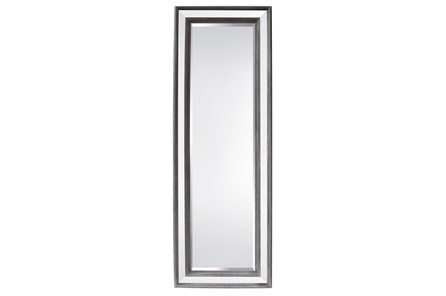 Mirror-Wood & Glass 30X85