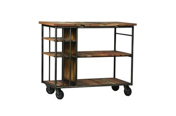 Boatwood & Iron Trolley
