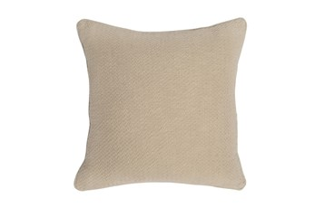 Accent Pillow-Linen Chevron Texture 22X22