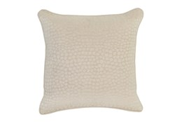 Accent Pillow-Ivory Pebbles 18X18