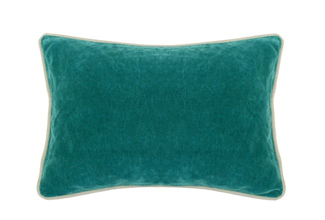 Accent Pillow-Surf Washed Velvet 14X20 - 360