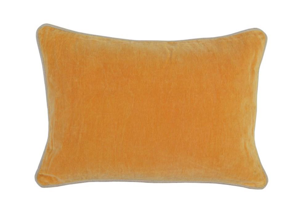 Accent Pillow-Mango Washed Velvet 14X20