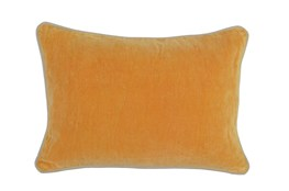 Accent Pillow-Mango Washed Velvet 14X20