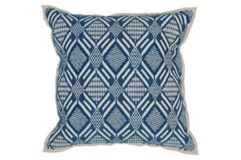Accent Pillow-Marine Diamond Print 18X18
