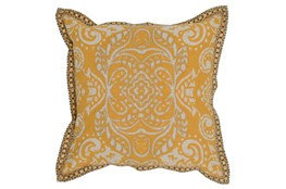 Accent Pillow-Mango Medallion Border 18X18