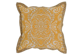 Accent Pillow-Mango Medallion Border 18X18