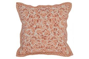 Accent Pillow-Carrot Eyelash 18X18