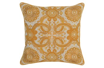 Accent Pillow-Mango Tribal Arabesque 18X18