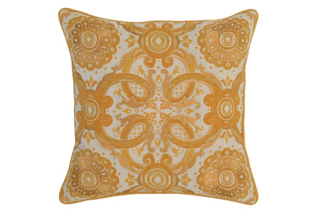 Accent Pillow-Mango Tribal Arabesque 18X18 - 360