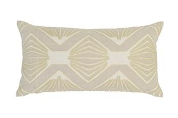 Accent Pillow-Ivory Kaleidoscope 14X26
