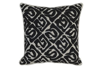 Accent Pillow-Onyx Tribal Print 18X18