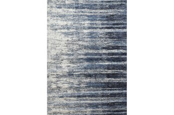 93X126 Rug-Wave Cobalt