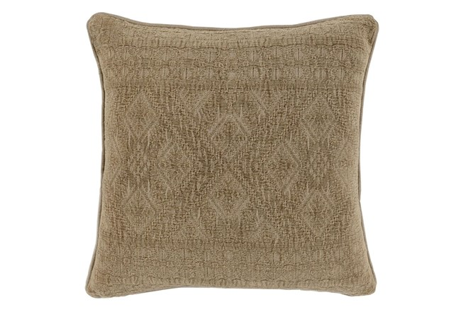 Accent Pillow-Taupe Tonal Tribe 22X22 - 360