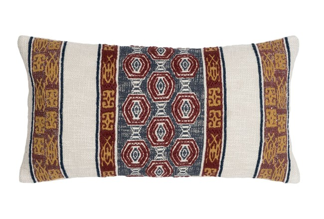 Accent Pillow-Tribe Bands Multi 14X26 - 360