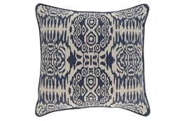 Accent Pillow-Denim Circle Tribe 22X22