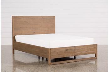 Nelson Queen Platform Bed W/Storage