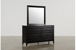 Keane Charcoal Dresser/Mirror