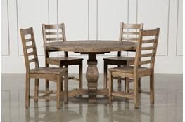 Caden 5 Piece Round Dining Set