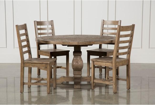 Caden 5 Piece Round Dining Set - 360