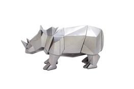 6 Inch Silver Rhino