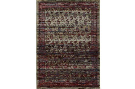 102X139 Rug-Elodie Moroccan Red