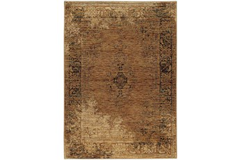 63X87 Rug-Adarra Moroccan Faded Gold