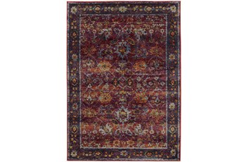 63X87 Rug-Mariam Moroccan Red