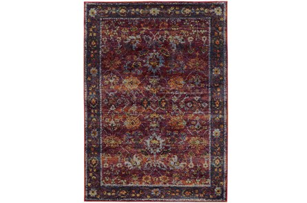 94X130 Rug-Mariam Moroccan Red