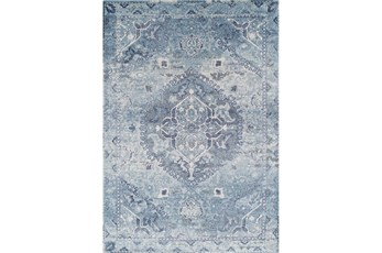 63X91 Rug-Penelope Light Blue