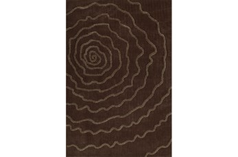 60X90 Rug-Modern Bloom Chocolate