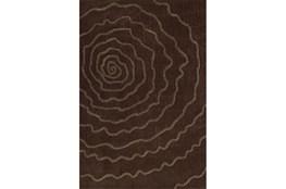 108X156 Rug-Modern Bloom Chocolate