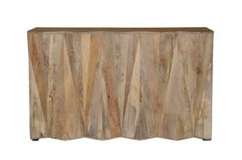 Mango Wood Natural Bar Cabinet