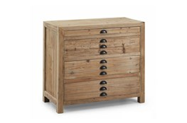 Natural 4-Drawer Chest