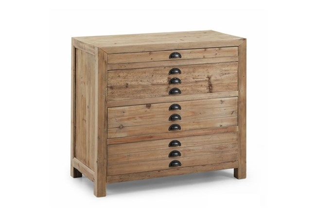 Natural 4-Drawer Chest - 360