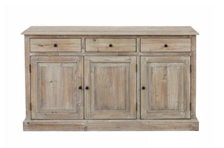 Natural 3-Drawer/3-Door Cabinet