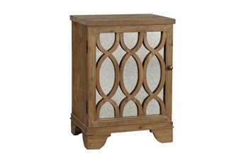 Natural 1-Door Cabinet