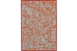 60X96 Rug-Aged Marble Orange