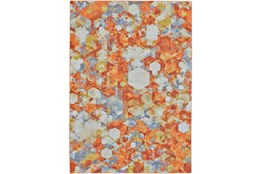 26X48 Rug-Pixel Orange/Multi