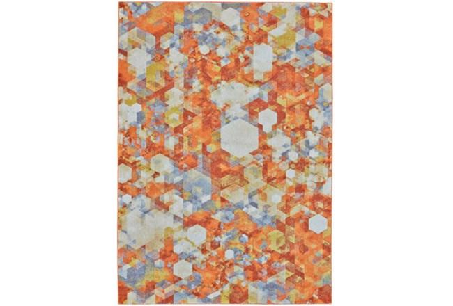 96X132 Rug-Pixel Orange/Multi - 360