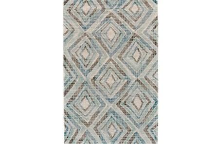 114X162 Rug-Talum Diamonds Blue