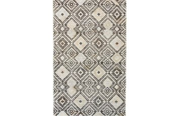 60X96 Rug-Native Diamond Grey