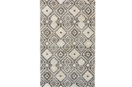 96X132 Rug-Native Diamond Grey