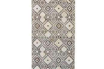 114X162 Rug-Native Diamond Grey