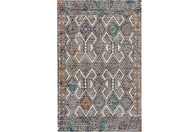 24X36 Rug-Native Orange/Teal - 360