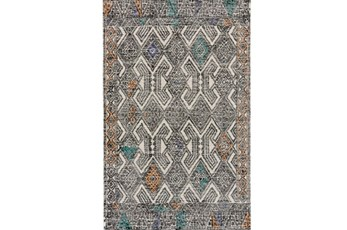 114X162 Rug-Native Orange/Teal