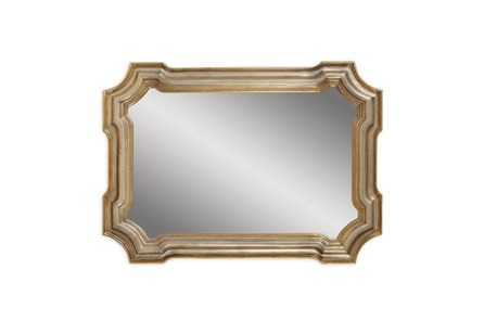 Mirror-Gold And Silver Angelica 31X43
